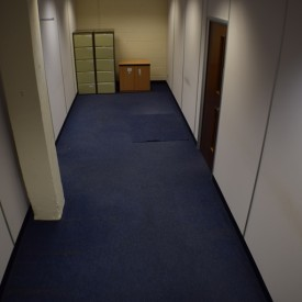 Store room, accessible through office two